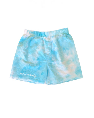 BAD AT RELATIONSHIPS LOUNGE BOXER SHORT TIEDYE