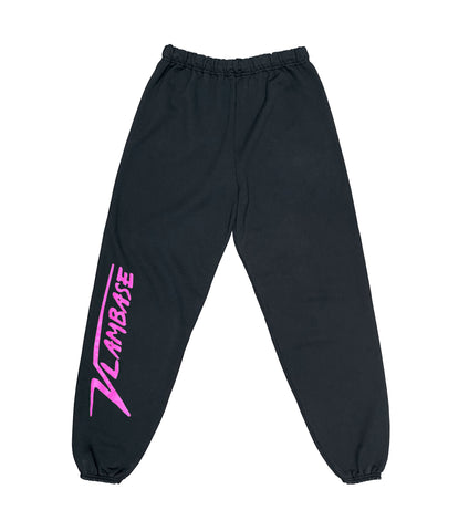 DIGITAL POP UP VLAMBASE SWEATPANTS BLACK