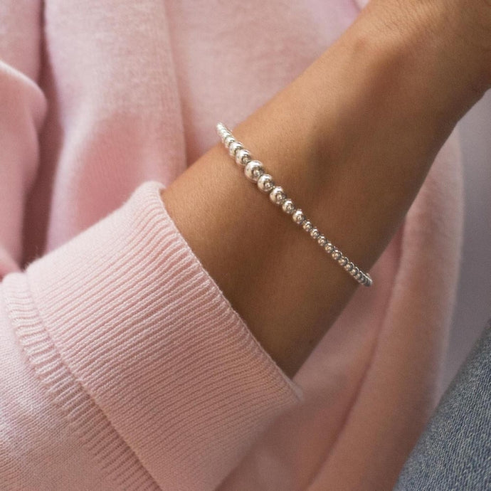 Romantic 925 sterling silver pearls cuff bracelet