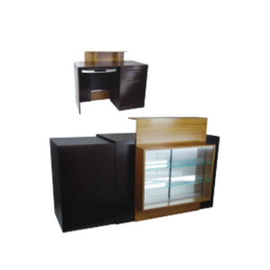 CSH-2735 Reception Counter with Display