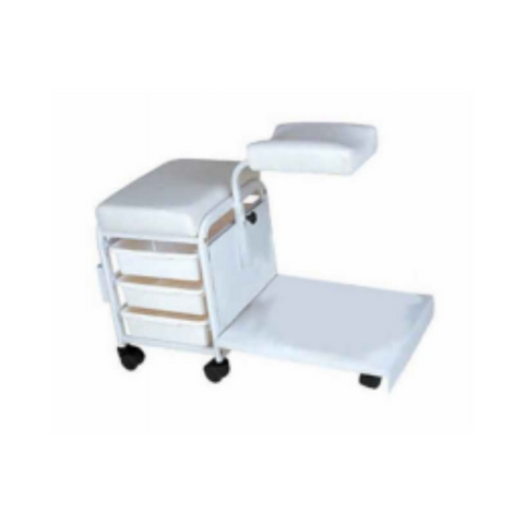 CSH-2305 Pedicure Stool (w/ Flat Base)