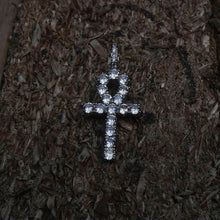 Load image into Gallery viewer, Diamond Ankh Cross