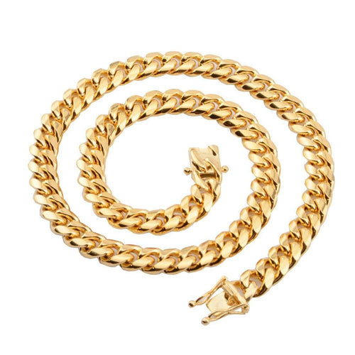 10mm Gold Cuban Link