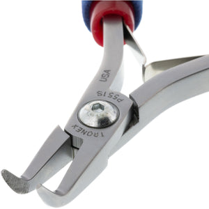 P551S/P751S • Bent Nose Pliers - 60° Fine Tips (Serrated)