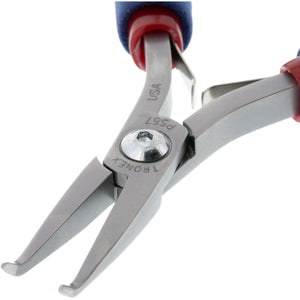 P557/P757 • Bent Nose Pliers - 60° Extra Fine Tips