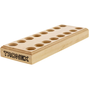 Tronex Wooden Pliers Stand, 16 Holes/8 Pliers