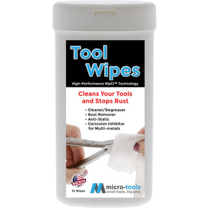 Tool Wipes, Cleans Your Tools and Stops Rust