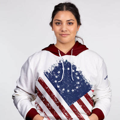 Betsy Ross Unisex Hooded Sweatshirt