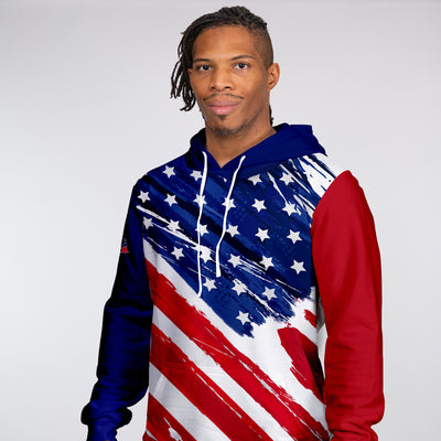 Liberty Unisex Hooded Sweatshirt