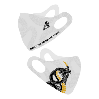 Dont Tread On Me New White Olson Face Mask