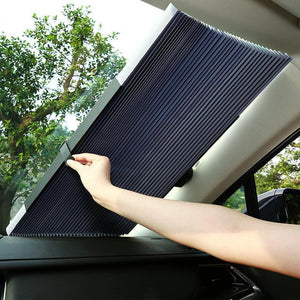 Inspire Uplift Car Retractable Windshield Cover Black Car Retractable Windshield Cover