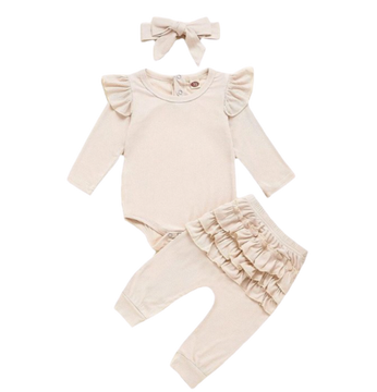 Mila 3-Piece Ruffle Set // Other Colors