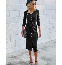 Load image into Gallery viewer, SCARLETT BUTTON DOWN MIDI