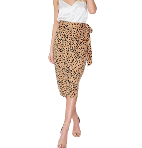 DOT WRAP SKIRT