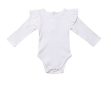 Load image into Gallery viewer, GEMMA RUFFLE ONESIE// 3 COLORS