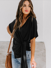 Load image into Gallery viewer, QUINN WRAP TOP // OTHER COLORS
