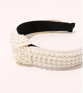 BEADED HEADBAND // 2 COLORS