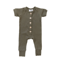 Load image into Gallery viewer, OAKLEY BUTTON DOWN JUMPER // OLIVE