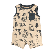 Load image into Gallery viewer, ORGANIC RILEY PALM ROMPER