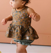 Load image into Gallery viewer, SUCCULENT RUFFLE SHORTS  // TODDLER