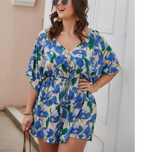 Load image into Gallery viewer, LILLY DRAWSTRING ROMPER // CURVY