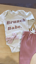 "Load image into Gallery viewer, ""BRUNCH BABE"" TEE / ONESIE"