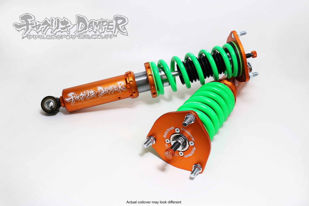 326POWER Toyota Wish ZNE10G Chakuriki Coilovers