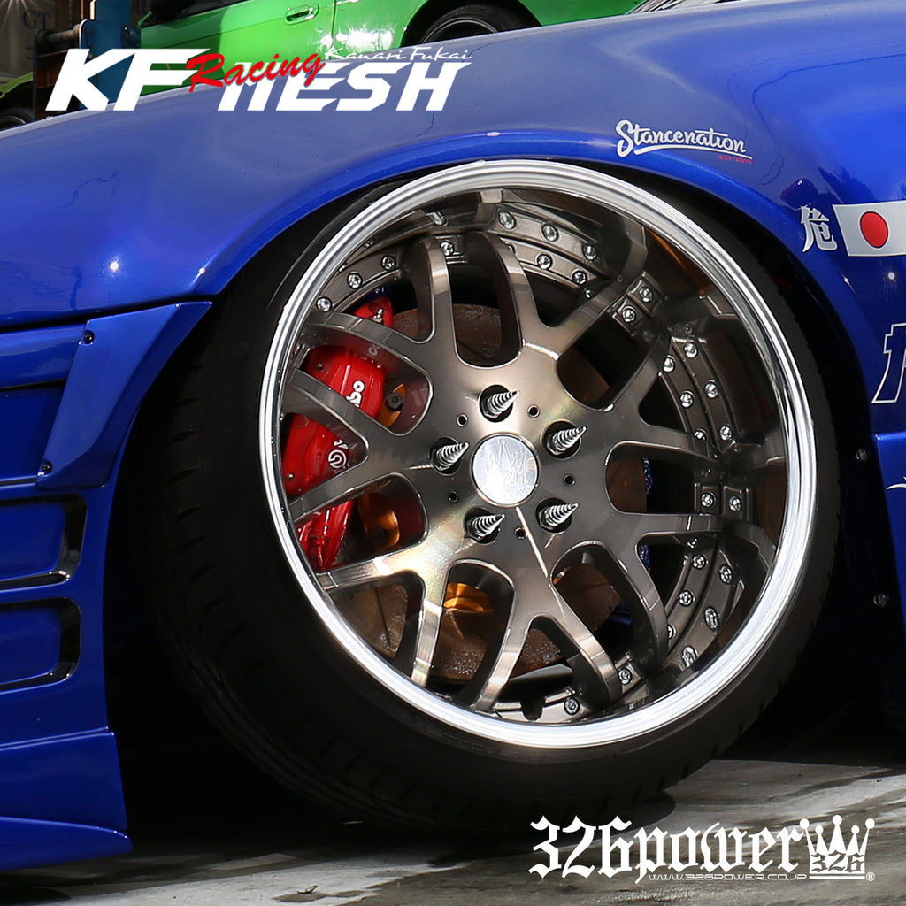 "326POWER Yabaking KF Racing Mesh 19"" Wheels"