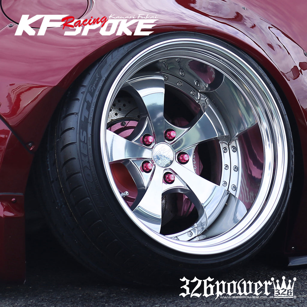 "326POWER Yabaking KF Racing Spoke 18"" Wheels"