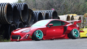 326POWER【がちゃバリWIDE】Gachabari Toyota GT86 Widebody Conversion