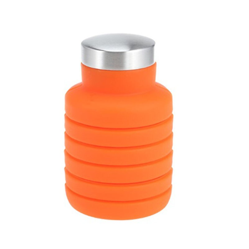Retractable Silicone Water Bottle - GeoModerne