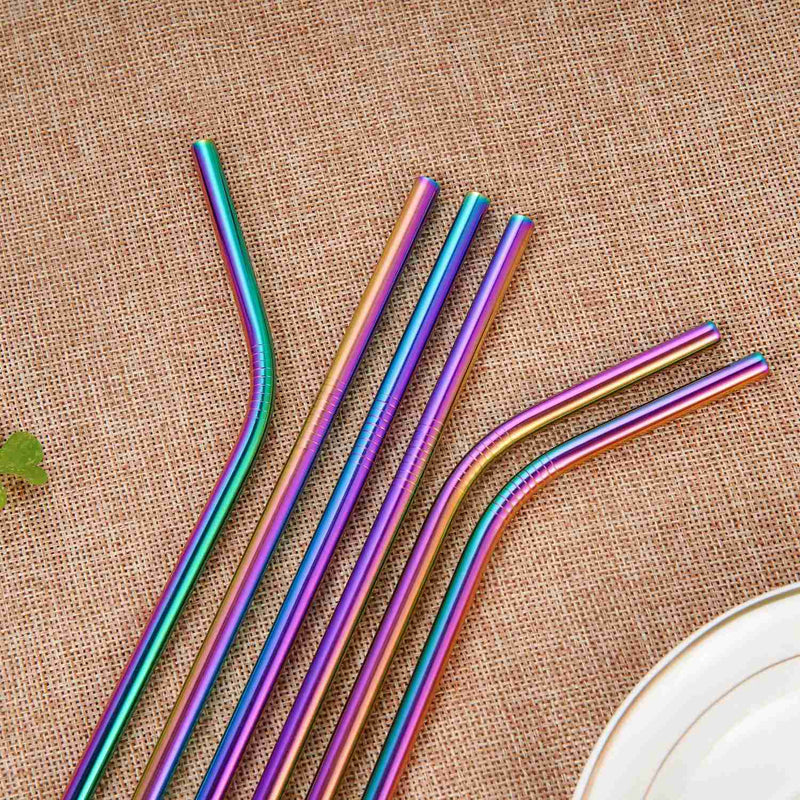 Colorful Stainless Steel Straws