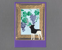 Handmade Custom Boston Terrier Dog Blank Greeting Card