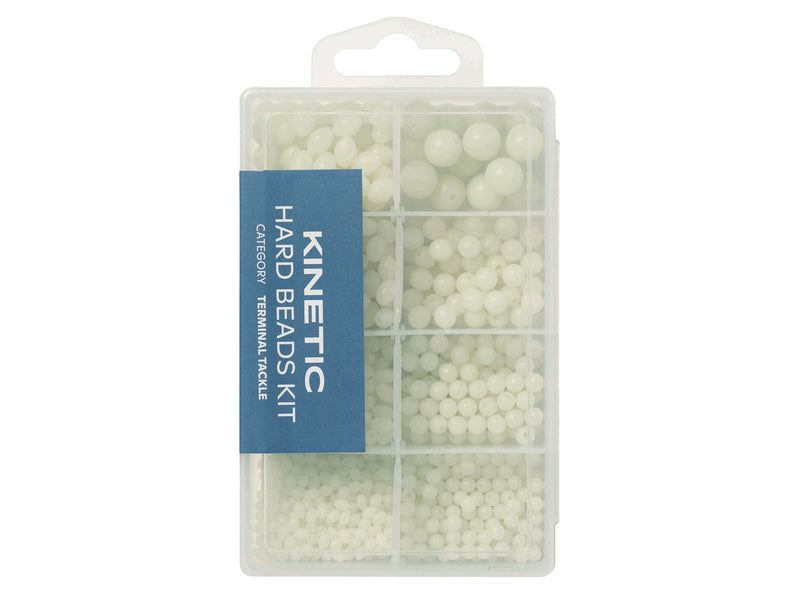 Kinetic Hard Beads Kit White Glow 1000-pack