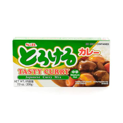 S&B TOROKERU CURRY MID HOT 2P 200g