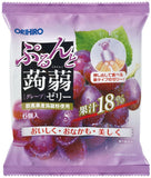 ORIHIRO PURUN TO KONNYAKU JELLY POUCH GRAPE 6P 120g