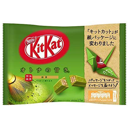 NESTLE COOKIE MINI MATCHA 13P 147G