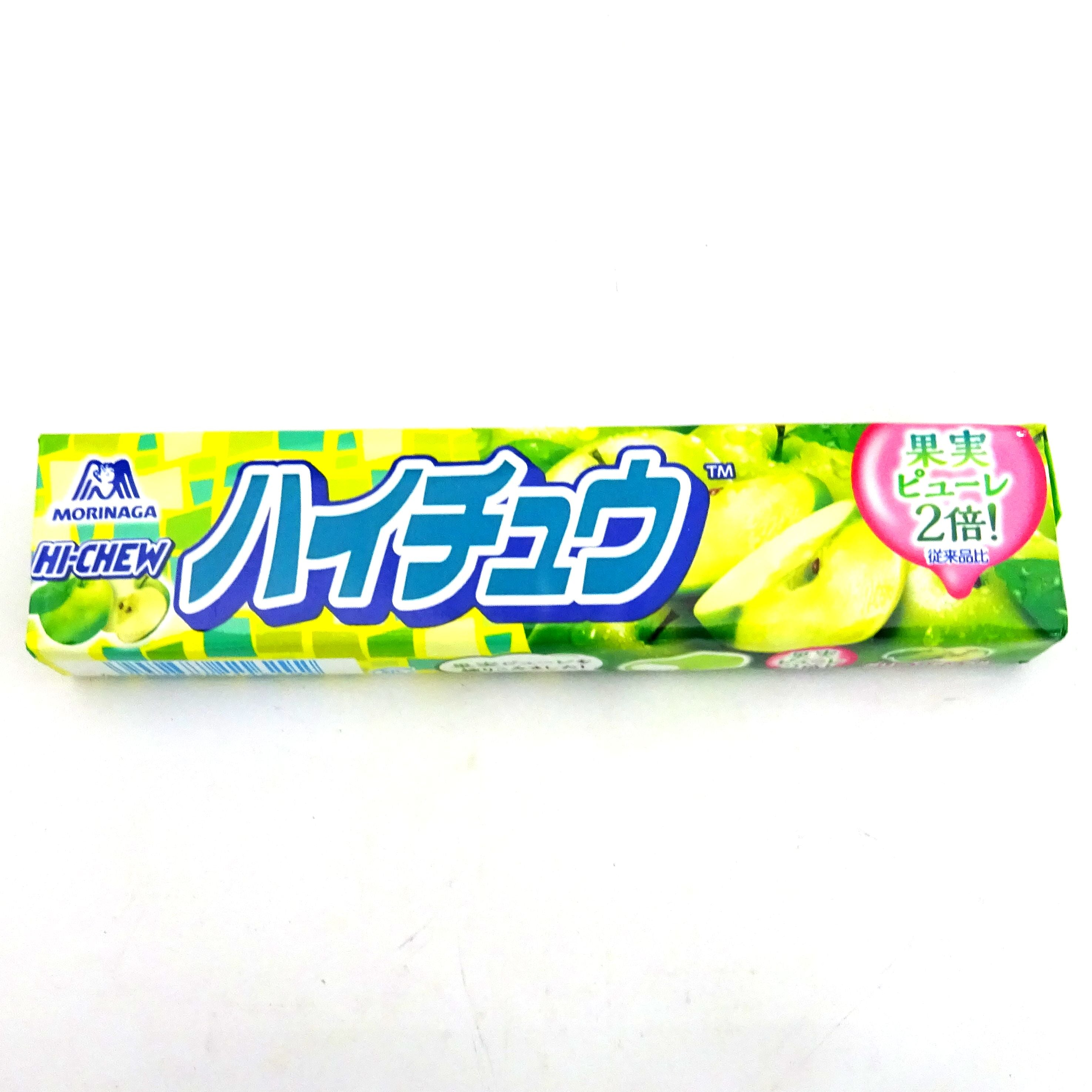 MORINAGA HI-CHEW CANDY GREEN APPLE 57g