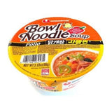 NONGSHIM Spicy chicken Bowl noodle 86g
