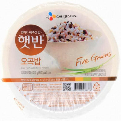 CJ COOKED FIVE GRAINS RICE 210g