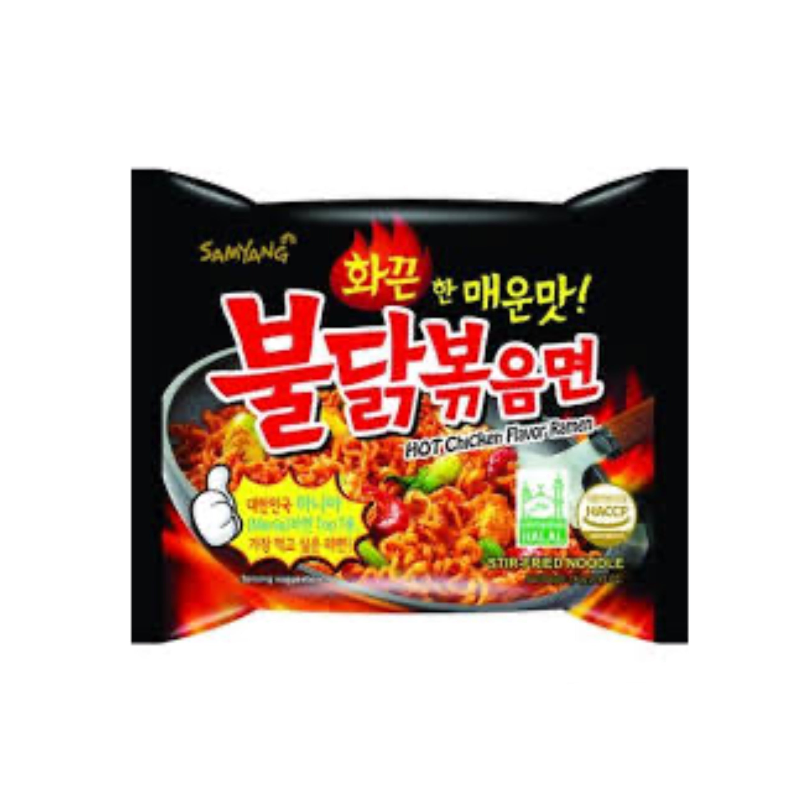 SAMYANG HOT CHICKEN FLAVOR RAMEN 140g