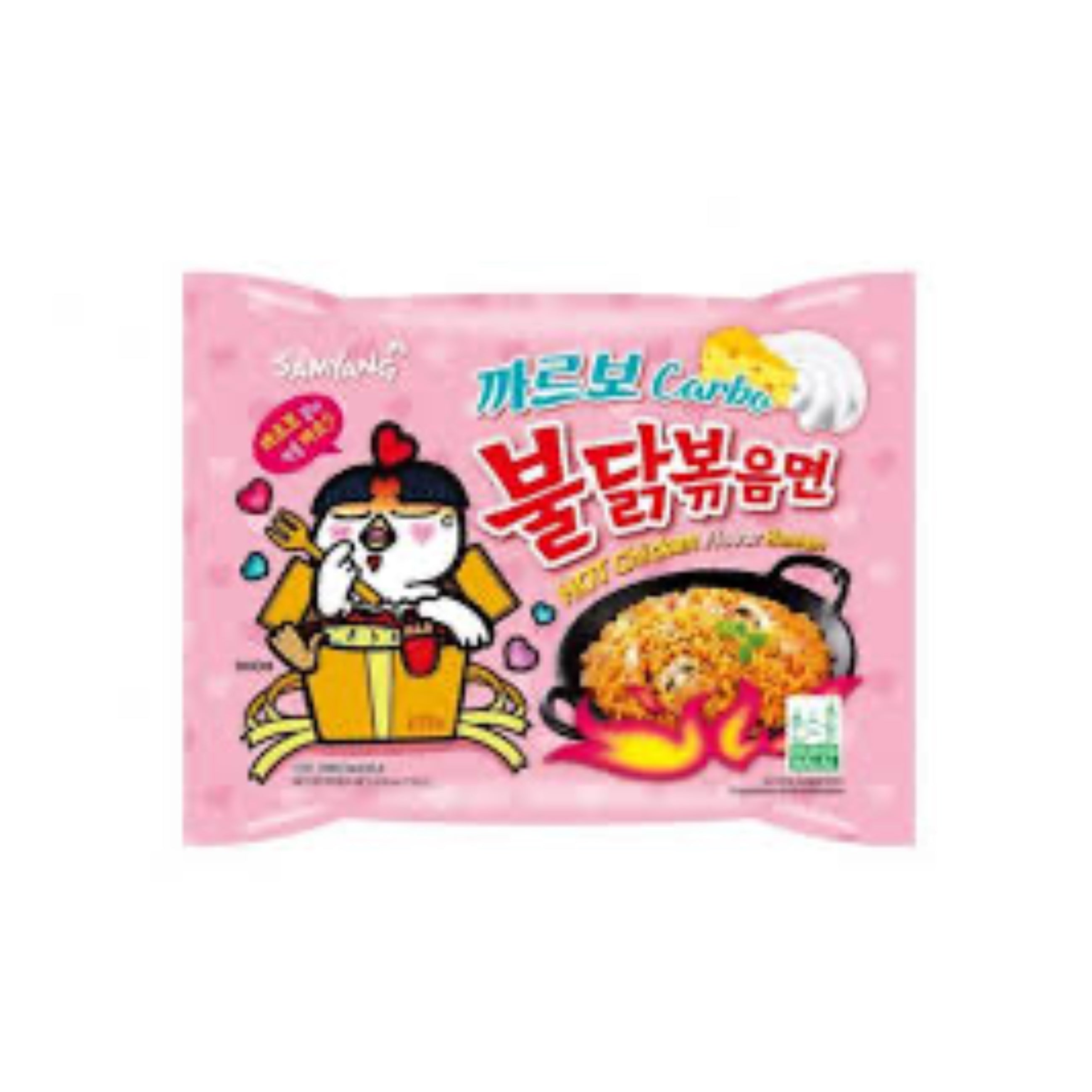 SAMYANG HOT CHICKEN FLAVOR CARBO RAMEN 130g