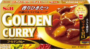 S&B GOLDEN CURRY MILD 198G