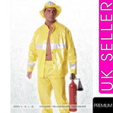 Sexy Fireman Costume Adult Male Firefighter Uniform Fancy Dress Stag Outfit