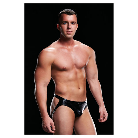 Envy Low Rise Jock  Black S/M - AngelsandSinners