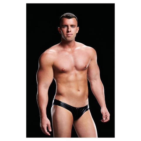 Envy Low Rise Brief  Black S/M - AngelsandSinners