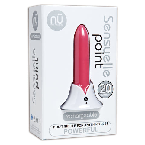 Nu Sensuelle Point 20 Function Bullet Pink OS - AngelsandSinners