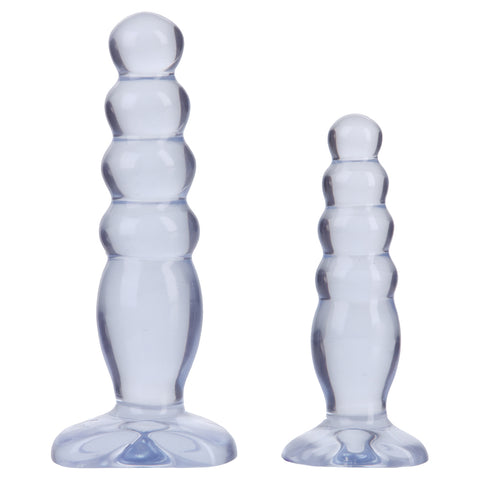 Doc Johnson Crystal Jellies Anal Trainer Kit - AngelsandSinners