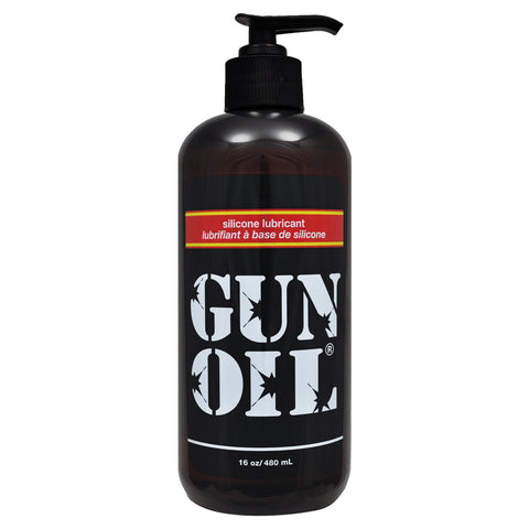 Gun Oil Silicone Transparent 16oz - AngelsandSinners