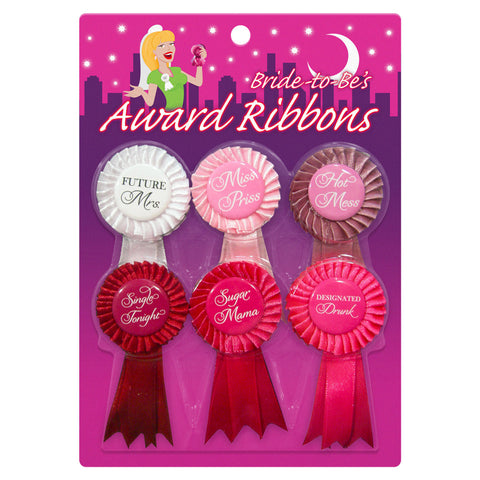 Kheper Games Bride To Be Award Ribbons Multi Os - AngelsandSinners